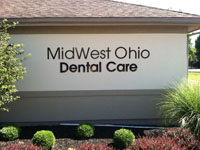MidWest Ohio Dental Care Lettering